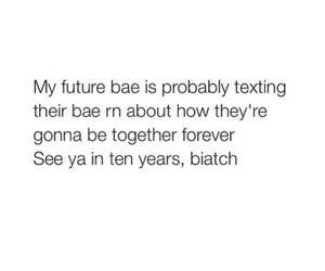 bae, quote, and future image