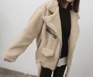 pale, jacket, and clothes image