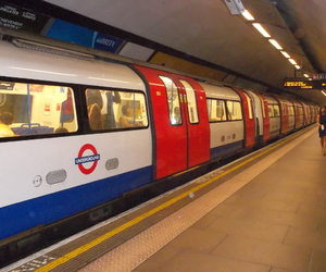 london, subway, and tube image