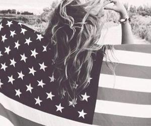 america, flag, and usa image