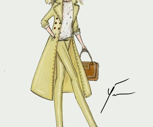 drawing and fashion image