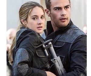 divergent, four, and tris image