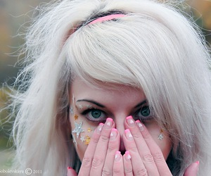 blonde, Dream, and make up image