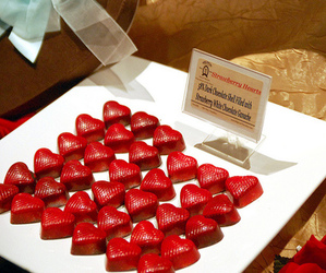 food, chocolate, and red image