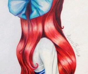 ariel, princess, and disney image