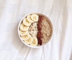 banana, fit, and fruit image