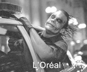 funny, joker, and loreal image