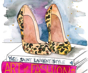fashion, art, and shoes image