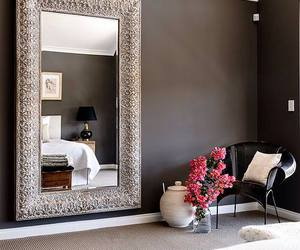 home, luxury, and mirror image