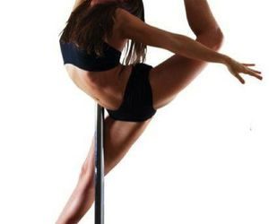 pole dance and work out image