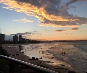 australia, beach, and Queensland image