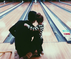 baby, bowling, and family image