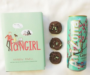 fangirl, arizona, and book image