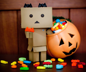 Halloween, danbo, and Amazon image