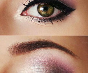 eyes, make up, and sparkle image