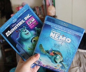 finding nemo and monsters inc image