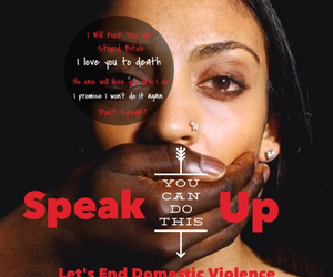 awareness, rise up, and speak up image