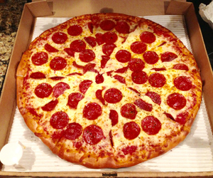 pizza, yummy, and love image