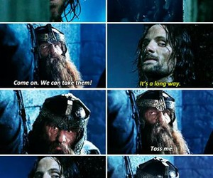 aragorn, lord of the rings, and viggo mortensen image