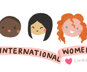 international women's day, woman, and day image