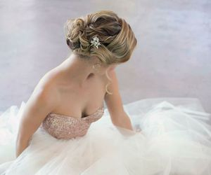 beauty, gowns, and hair image