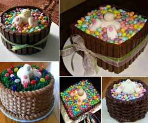 cake, clever, and colorful image