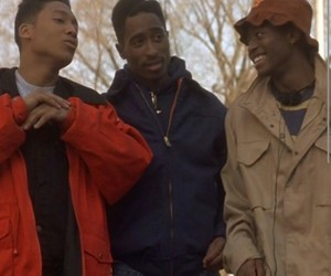 movie, omar, and tupac image