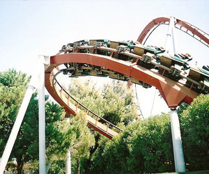 photography, park, and Roller Coaster image