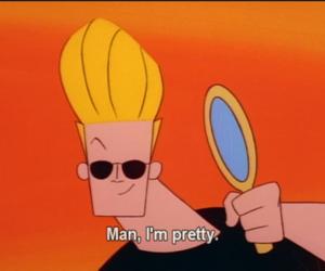 pretty, Johnny bravo, and cartoon image