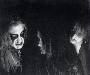 Black Metal, corpse paint, and dead image