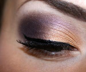 eyes, make, and makeup make up image