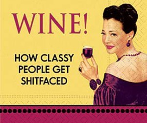 wine, funny, and classy image