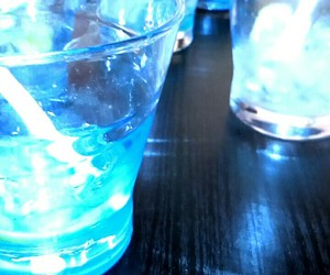 blue, Cocktails, and delicious image