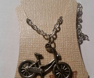 cyclist, handmade jewelry, and etsy image