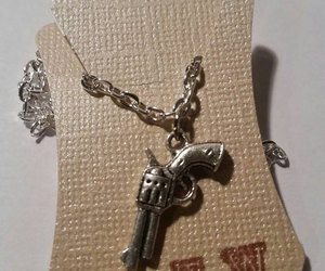 edgy, etsy, and charm necklace image