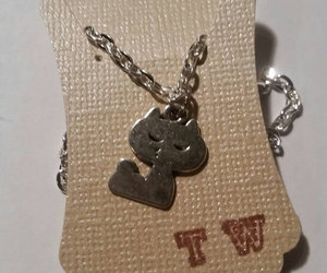 etsy, animal lover, and cat jewelry image
