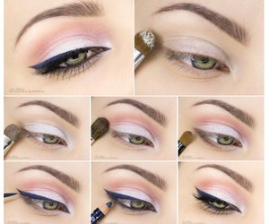 eye makeup, eyes, and makeup image