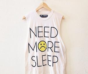 sleep, shirt, and clothes image