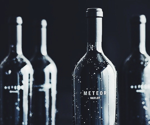 meteor and bottle image