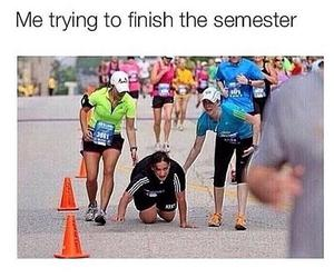 funny, school, and semester image
