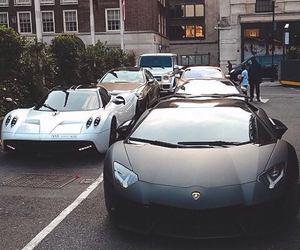 black, Lamborghini, and car image