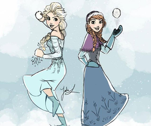anna, frozenfever, and disney image