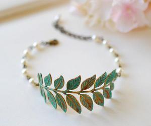 bracelet and leaves image