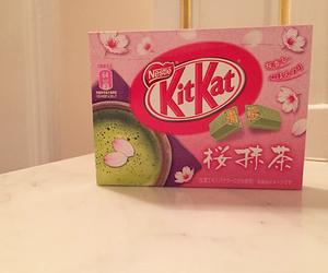 chocolate, desserts, and kitkat image