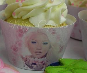 christina aguilera, cupcakes, and food image