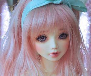 doll, model, and cute image