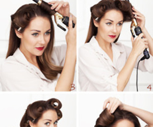 hair, how to, and lauren conrad image