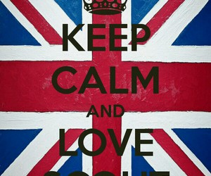 keep calm, scout, and uk image