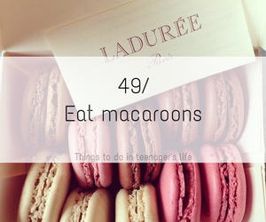 macaroons, food, and delicious image