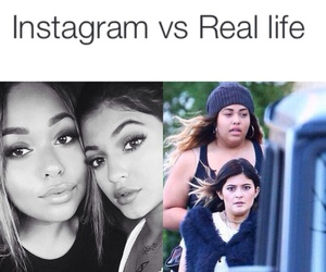 funny, kylie jenner, and instagram image